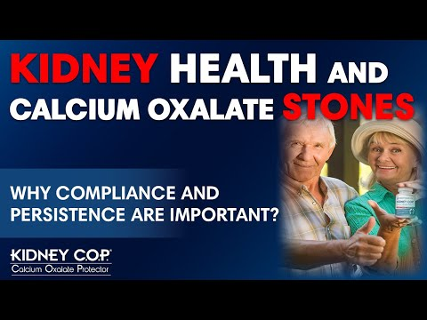 Kidney C.O.P. - Compliance and Persistance (Following Product Directions) Is Important