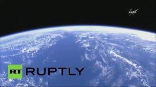 Стыковка корабля новой серии «Прогресс» с МКС