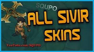 All Sivir Skins (League of Legends)