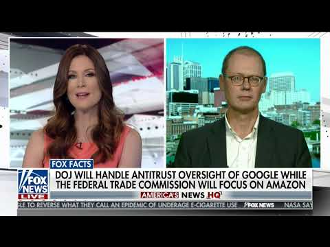 Interview with Molly Line on Fox News -- June 8, 2019