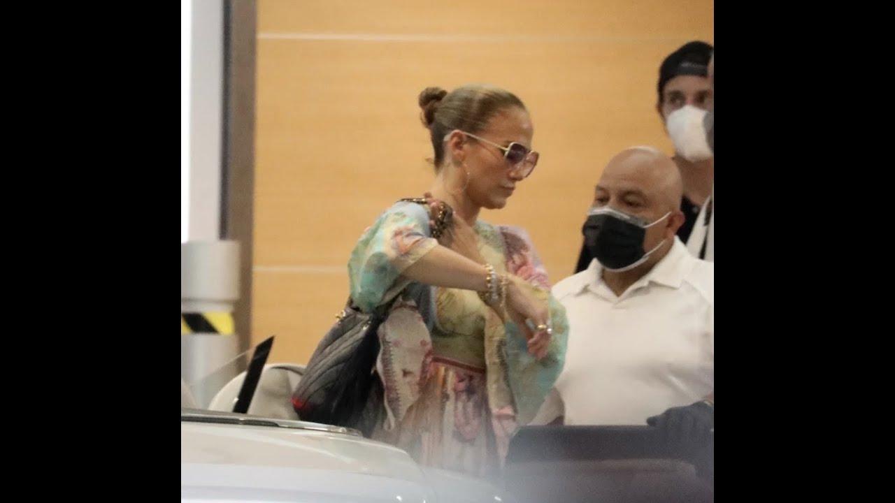 Jennifer Lopez heads back to work after week with Ben Affleck
