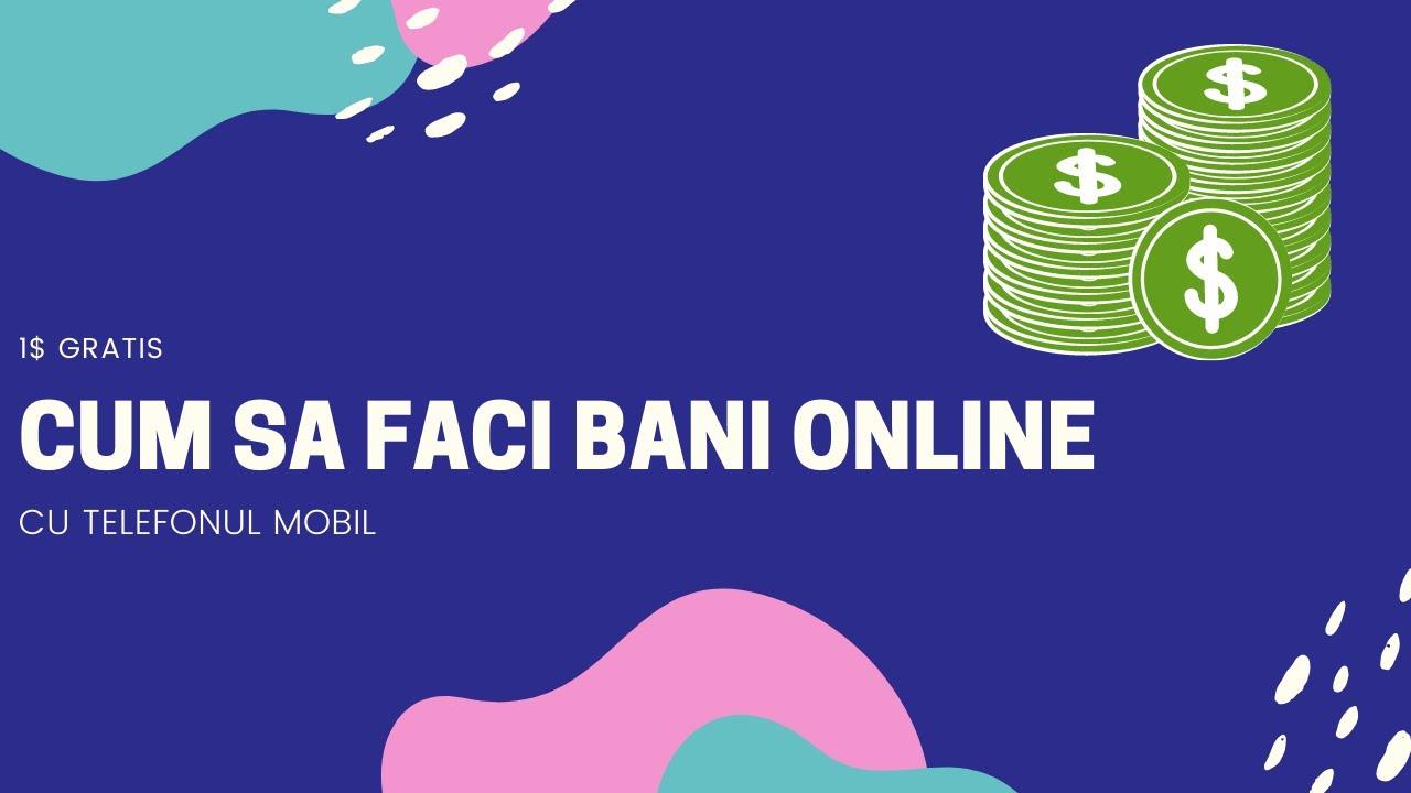 câștigați bani pe Internet printr- un computer