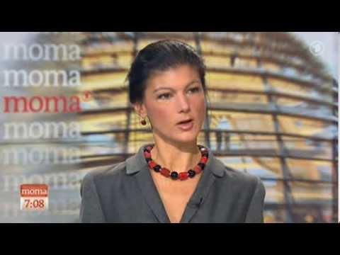 """Sahra Wagenknecht: """"SPD hat sich zum Nulltarif verkauft"""" [17.12.2013] thumbnail"""