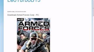 Armed Forces Corp - PC