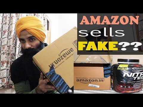 Original Supplements From Amazon? Unboxing Muscletech Nitrotech