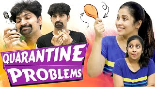 LOCKDOWN #quarantine #Fun #Problems|| crazy Kashtalu| #COUPLES #FUNNY #FAMILY #Habits #sushma #fight