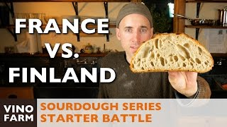 Sourdough Battle - France vs. Finland - Starter Throwdown