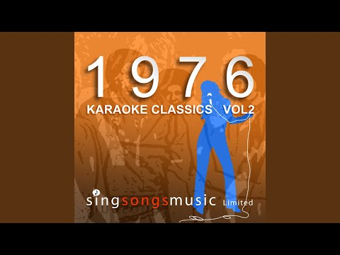 Save All Your Kisses For Me (Karaoke in the style of Brotherhood Of Man)