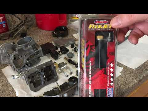 Project YFZ 450 carb and fuel system clean up