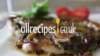 Steak With Mushroom Sauce Recipe Video