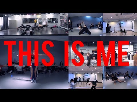 THIS IS ME | Keala Settle | The Greatest Showman | Luckystar Low Choreography