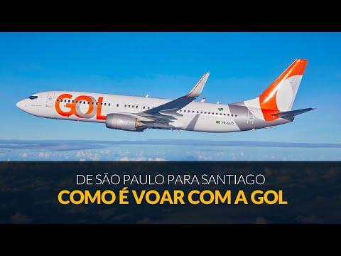 Como é voar com Gol para Santiago do Chile no Boeing 737-800