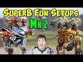 War Robots Fun Setups Mk2 Exodus Carnage & Vortex Spectre WR Gameplay