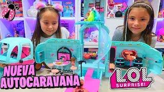 Nueva LOL Surprise GLAMPER EN EXCLUSIVA!!! 🚐 Camper de las LOL