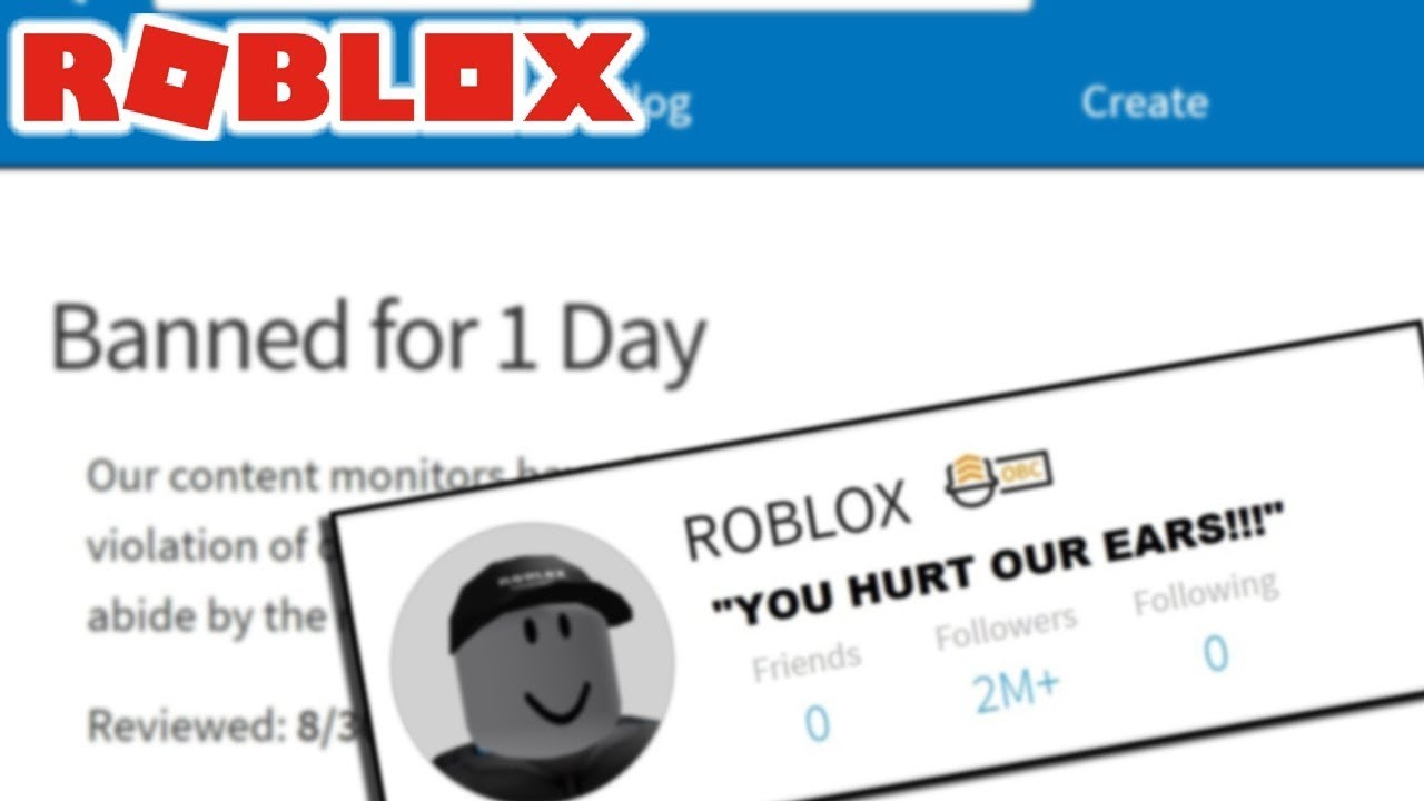 roblox BANNED me