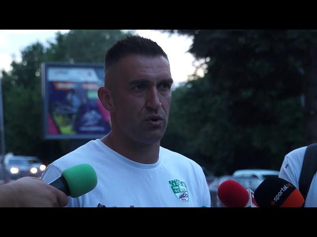 Камбуров след мача със
