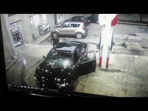 Gangsta's Shoot It Out In Atlanta At A Gas Station