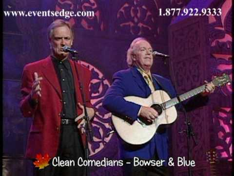Bowser and Blue – Comedy Music by Events Edge Entertainment and Speakers Bureau
