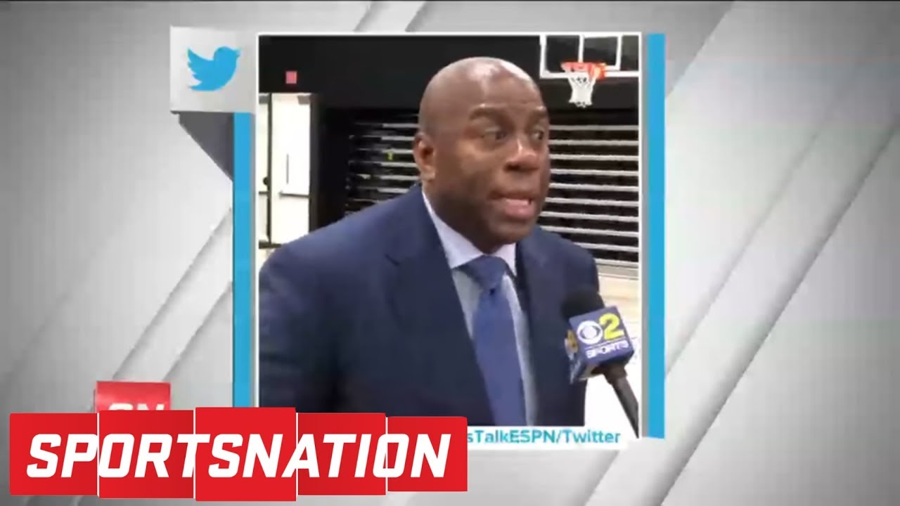 Magic Johnson: I'll step down if Lakers don't land top free agents by 2019 | SportsNation | ESPN