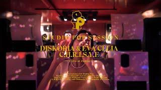 Diskoria & Eva Celia - C.H.R.I.S.Y.E. (Live at Zodiac)