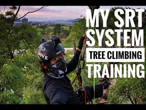My SRT System Tree Climbing Training / Bulldog Bone / Bola Lanyard / Captain Hook / GoPro