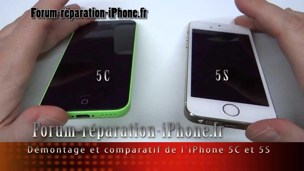 D montage et comparatif de l 39 int rieur de l 39 iphone 5c et for Interieur iphone