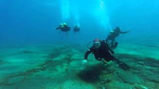 Paul, Emma, Peter & Biorn Diving in Gran Canaria With Blue Water Diving July 2015