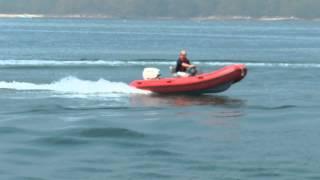 Defender 430 Chase Boat RIB with Evinrude E-Tec 40hp