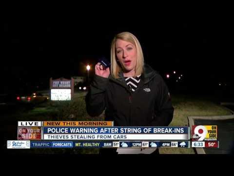 Vehicle break-ins reported in Northern Kentucky