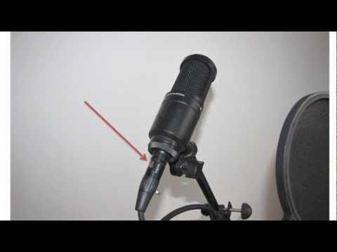 Видео. Как Подключить Микрофон к Компьютеру.