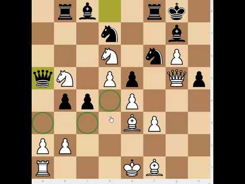 An ultra deep attacking idea by Chile's finest (Martner v. Najdorf)