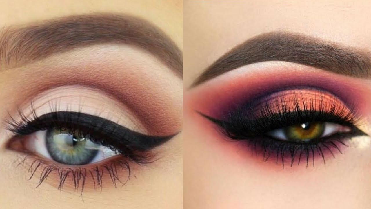 Easy And Beautiful Eye Makeup Tutorial Compilation Videos Youtube