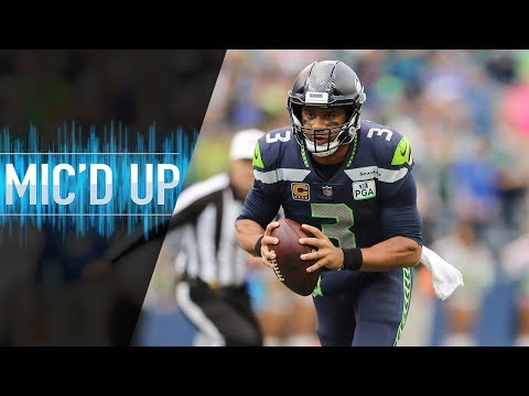 """Russell Wilson Mic'd Up vs. Chargers """"Mama told me to make sure I whooped you today!"""" 