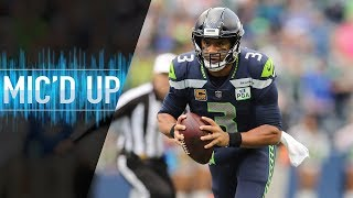 "Russell Wilson Mic'd Up vs. Chargers ""Mama told me to make sure I whooped you today!"" 