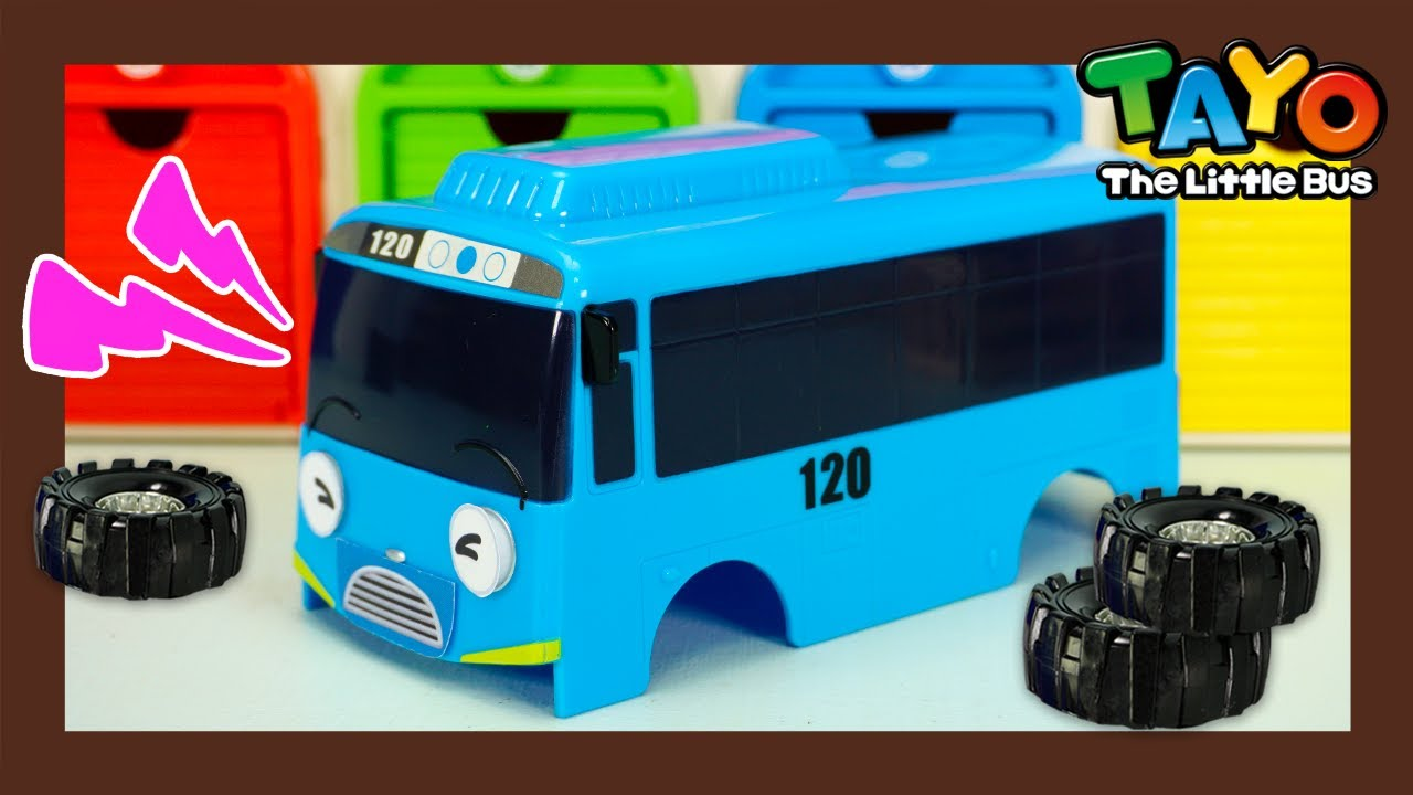 Tayo Monster Police l Where are Tayo's wheels? Wheels monster takes them away! l Tayo the Little Bus