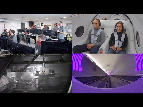 First Hyperloop Passenger Test (Full Test + Stats)
