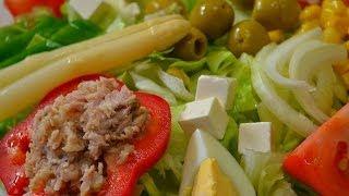 "Испанский салат ""Микста"" - Ensalada Mixta."
