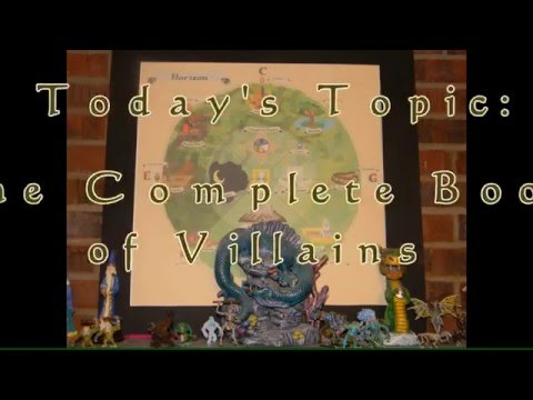RPG Talks:The Complete Book of Villains for 2nd Edition Advanced Dungeons & Dragons