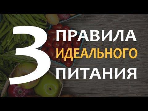 🔥 3 Главных Правила Идеального Питания | Как Составить Идеальный Рацион?