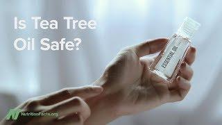 Je olej z čajovníku (tea tree oil) bezpečný?
