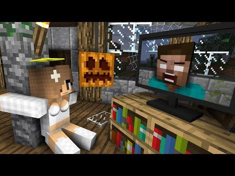 Monster School: Haunted House Halloween - Minecraft Animation