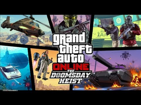 GTA 5 - THE DOOMSDAY HEIST!! (GTA 5 Online Heists) PART 4 #NOSLEEP