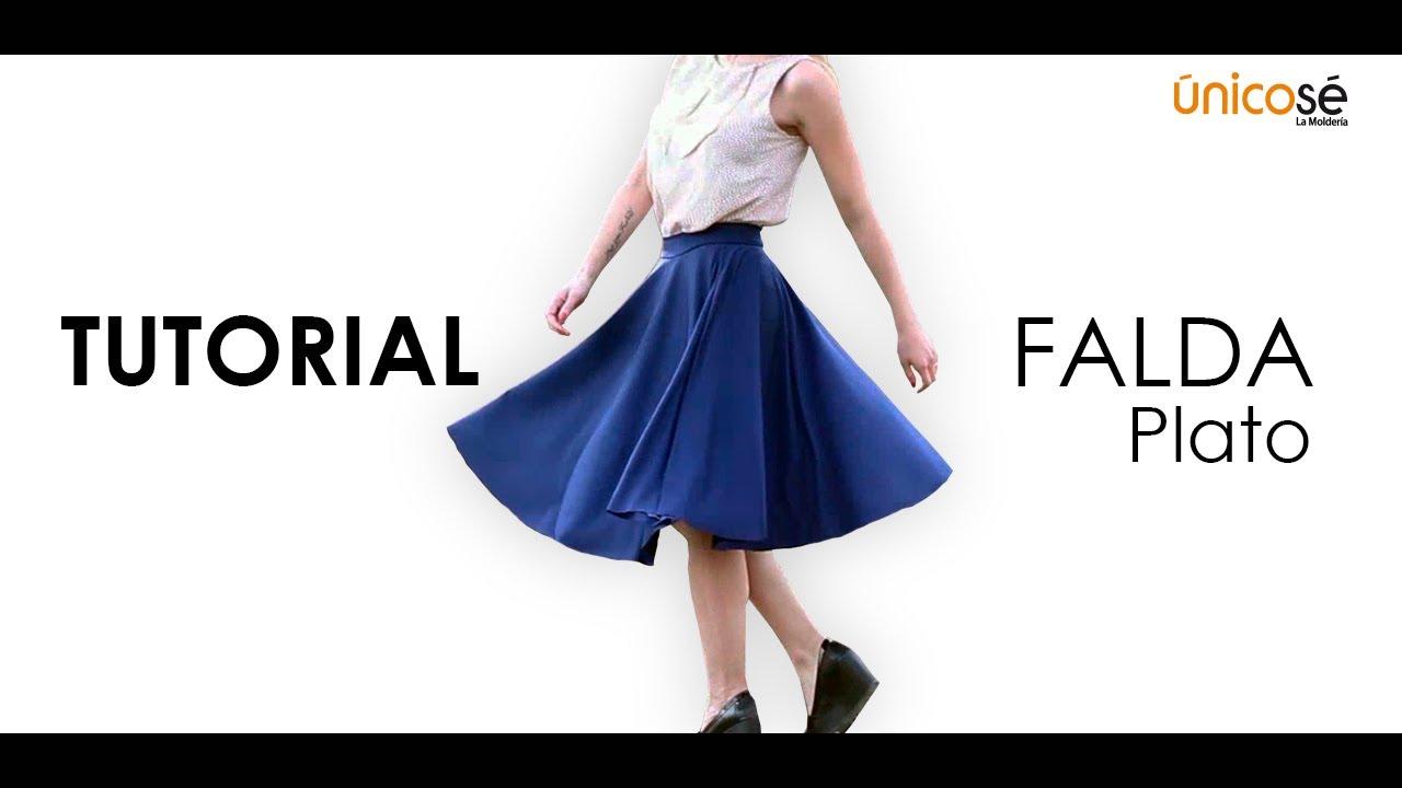 DIY COSTURA: Cómo hacer Pollera- Falda. (PATRONES) - YouTube