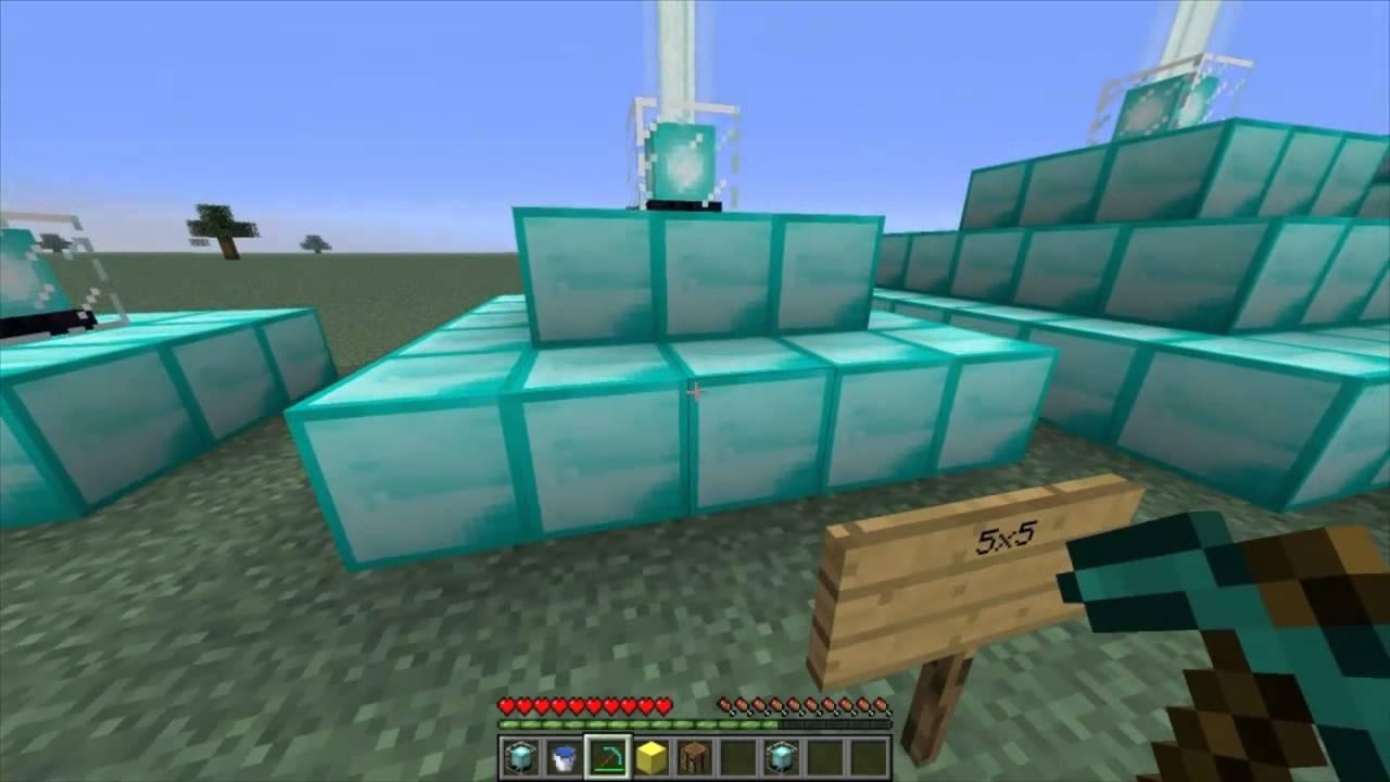 Minecraft: Como hacer un faro mágico y sus funciones. - YouTube