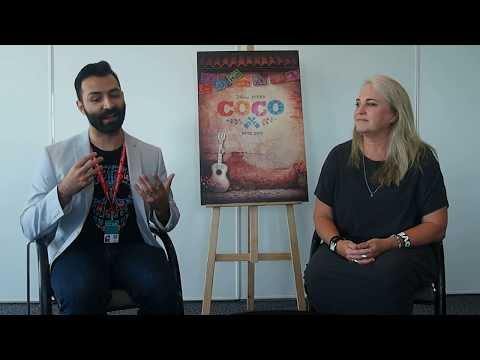 [Annecy 2017] Coco: round table with Adrian Molina & Darla K. Anderson