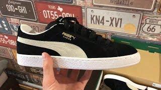 Кеды Puma Suede Classic Black - Обзор кроссовок