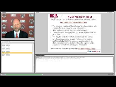 NDIA Industrial Base Initiative