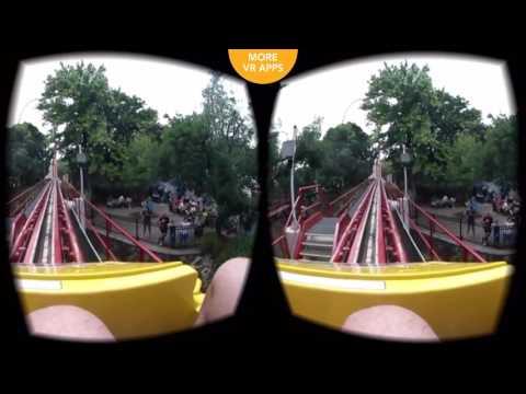 Stormrunner 360 VR SBS VR Roller Coaster for Google Cardboard 1080p