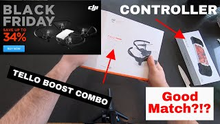 DJI TELLO BOOST COMBO + Gamevice Controller - A Perfect Match?