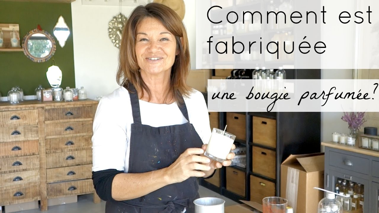 atelier virginie comment est fabriqu e une bougie parfum e artisanat bonus youtube. Black Bedroom Furniture Sets. Home Design Ideas